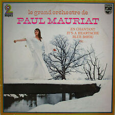 "PAUL MAURIAT - DOUBLE LP ""EN CHANTANT"""
