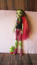 Monster High First Wave Venus Mcflytrap Shoes Outfit Earrings Necklace Vines Pet