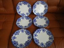 Boch Freres Keramis Dordrecht 6 assiettes plates