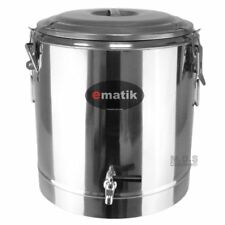 Pot Stainless Steel 36 Quarts Thermal with Commercial Dispenser Stock Pot