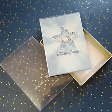 Vintage Sanrio Hello Kitty Journal Angel Kitty Blue Blank Book New Box 2000
