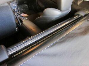 Carbon fiber rear strut bar cover for Nissan 370Z