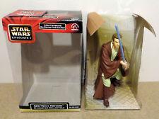 "Star Wars OBI WAN KENOBI 8"" inch ACTION FIGURE applause Glow in dark light saber"