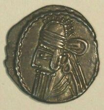147-191 Ad Parthian Kingdom Silver Drachma Vologases Iv C013 *Free U.S Shipping