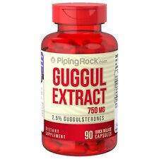 EXTRACTO DE GUGUL (GUGULESTERONAS) 750 mg 90 Cápsulas - GUGGUL