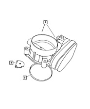 Genuine Mopar Throttle Body To Intake Seal 53032383AB