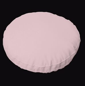 pc505r Pink Round Water Proof PVC/PU Thick Mattresses Cushion Cover Custom Size