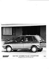 AUSTIN ROVER METRO VANDEN PLAS  PRESS PHOTOS 1986 1987 'BROCHURE CONNECTED' 3 OF