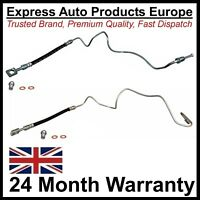 Pair Rear Brake Hoses & Pipes VW Golf Mk4 Bora New Beetle Audi A3 8L TT 8N