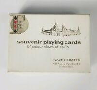Heraclio Fournier Souvenir Playing Cards, 54 Colour Views of Spain