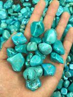 100g blue turquoise Crystal gemstone rough stone mineral specimen