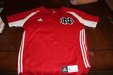 Notre Dame Game Used Worn Red ALS Baseball Jersey #30. XL Irish 2014