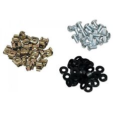 """500 Pack Cage Rack Nuts and Bolts M6 19"""" Rack Mounts"""
