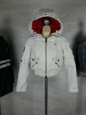 Abercrombie & Fitch A&F Girl's L Vintage Ski Puffer down Jacket Bomber Coat