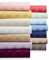 Unique 4 PCs Water Bed Sheet Set 1000tc Egyptian Cotton Queen Size Stripe Colors