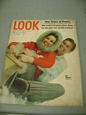 LOOK MAGAZINE NOVEMBER 11 1947 SKI CLOTHES HEALTH PROBLEMS YEARS OF PEACE