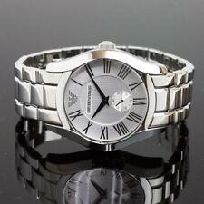 Authentic Emporio Armani AR-0647, Classic Executive White dial Watch for Men