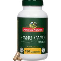 Organic Camu Camu 500mg - 150 Capsules - Peruvian Naturals