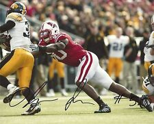 O'Brien Schofield Wisconsin Badgers Signed 8X10 Photo