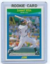 Sammy Sosa 1990 90 Score Rising Stars Rookie card #35