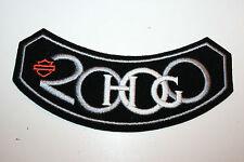 Vintage 2000 Minty HOG Member Harley Davidson Motorcycle Velvet Patch Rare