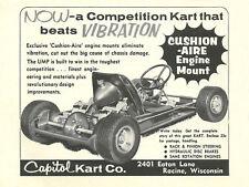 Vintage & Very Rare 1960 Capitol Ump Go-Kart Ad
