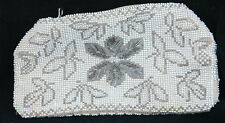 Small Beaded Belt Purse. with Zippered Closure