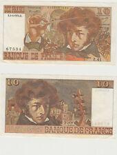 GERTBROLEN  10 FRANCS ( BERLIOZ  ) du 4-4-1974   Z. 41 Billet N° 0102367534