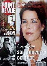2004: CAROLINE DE MONACO_COCO CHANEL_CHARLES D'AUTRICHE_MARIE DE ROUMANIE