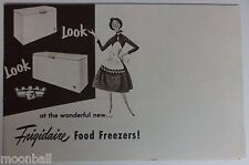 RARE! 1952 FRIGIDAIRE Food Freezers! Advertisment Pamphlet GENERAL MOTORS
