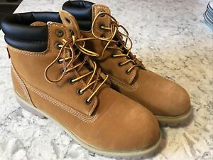 New Levi's Mens Harrison Wheat Suede Lace up Boots Size 9M Number 51741011B A65