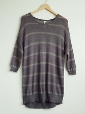 WHITE STUFF LADIES MOHAIR BLEND OVERSIZED JUMPER SIZE 10 MAY FIT A 12
