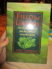 Fields Of Greens First Edition Hardcover! Annie Somerville Very Good Clean COnd