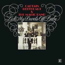 CAPTAIN BEEFHEART - LICK MY DECALS OFF, BABY: REMASTERED CD ALBUM (2015)