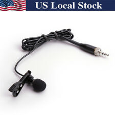 Tie Clip Lapel Voice Lavalier Microphone For Sennheiser Wireless EW100 G1 G2 G3