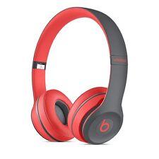 Marca Nueva 2017 Beats By Dre Solo Auriculares Inalámbricos Bluetooth 2-Rojo activo