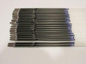 25 UNIVERSAL STICK BLUE BALLPOINT REFILLS-FIT BIC CLIC BALLPOINT PEN