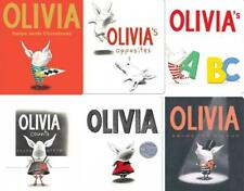 Olivia Series by Ian Falconer BOARD BOOK Collection Set Books 1-6 Brand New
