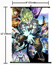 Hot Japan Anime Dragon Ball Wall Poster Scroll Home Decor  plsters  6699