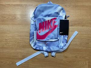 RARE!!! Backpack Nike Classic BA6189 085 Rucksack Kids School Sport Gray