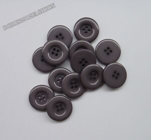 5pcs Resin Coat Sewing Buttons DIY 15mm 18mm 20mm 23mm 25mm 28mm 30mm 34mm 38mm