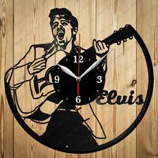 Vinyl Clock Elvis Presley Handmade Vinyl Clock Art Home Decor Original Gift