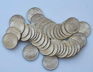 ANGOLA  Portuguese Colony  10 escudos  silver 1952 UNC