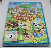 Jeu ANIMAL CROSSING Amiibo Festival pour Nintendo Wii U PAL NEUF sous blister