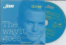 JIM BAKKUM - The way it goes (LIMITED EDITION) CD SINGLE 4TR 2003 HOLLAND RARE!