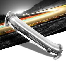 """SS 3.00"""" High Flow CAT Delete Exhaust Race Test Downpipe For 97-05 A4 1.8T Turbo"""