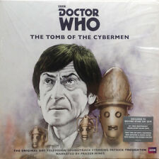 BBC DOCTOR WHO THE TOMB OF THE CYBERMAN LTD SILVER VINYL LP SEALED RSD 2018