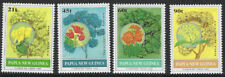PAPUA NEW GUINEA :1992 Flowering Trees set  SG675-8 MNH