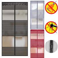 Magnet Fliegengitter Tür Insektenschutz Moskitonetz Vorhang Fliegenvorhang 01