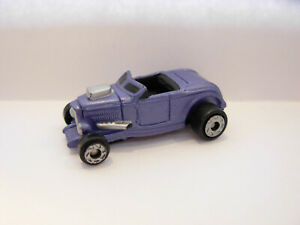 VINTAGE MICRO MACHINES CHEVY/FORD ROADSTER IN PURPLE